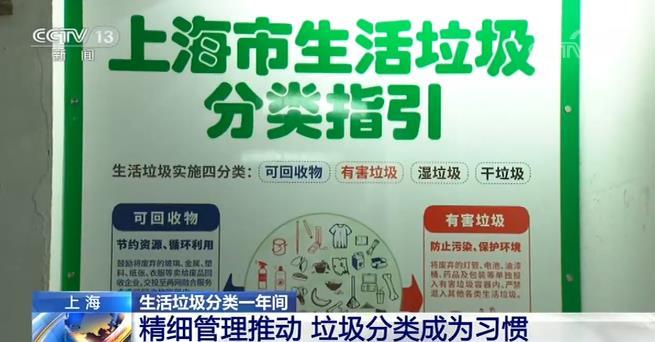 rain 强心脏上海的垃圾分类前端工作成效明显