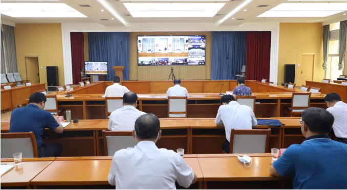 东营市全面精准开展环境卫生和消毒工作视频会议召开