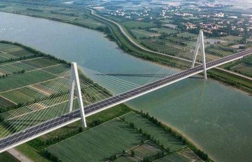 420米!黄河三角洲跨径最大双塔双索斜拉桥东津黄河大桥开工