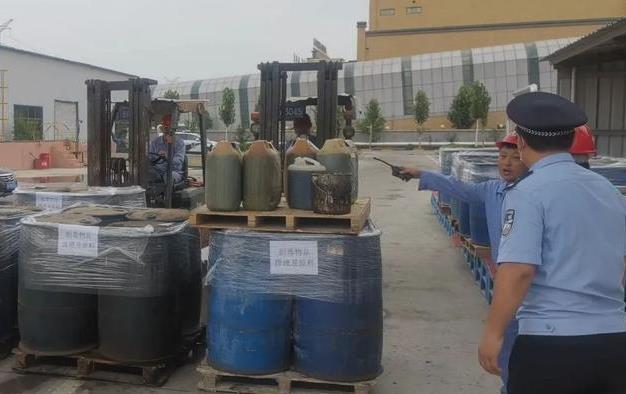 """菏泽""""破冰行动""""上演,公开集中无害化销毁制毒物品21.5吨"""