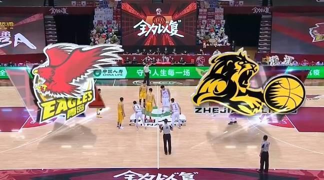 王庆明17分9篮板 青岛不敌广厦遭遇四连败