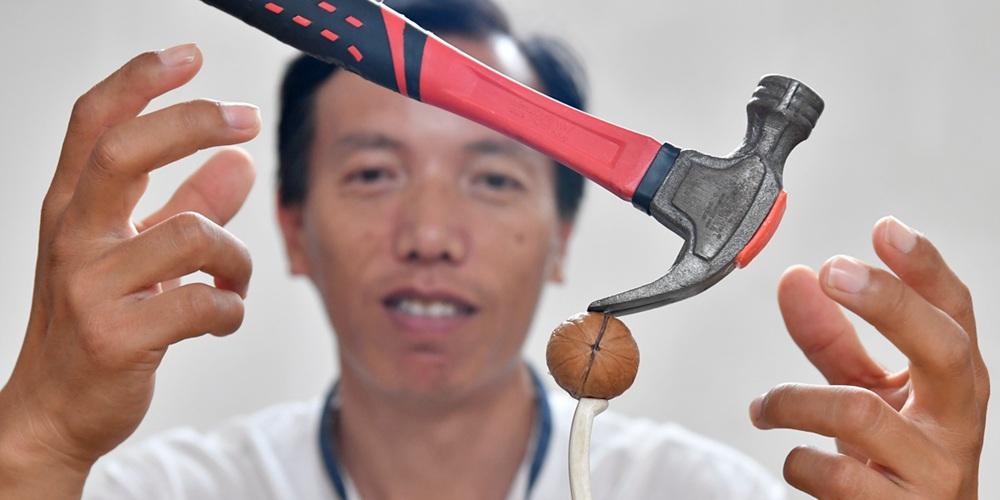 """山东电工变身平衡术""""网红""""达人 普通物件在他手里有了""""灵魂"""""""