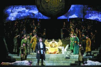 疫情后国内首部歌剧在剧场复演 《马可·波罗》门票被观众抢光
