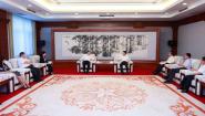 张海波会见中国长城科技集团客人