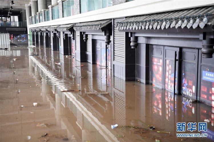 (防汛抗洪)(7)重庆:千年古镇磁器口部分受淹