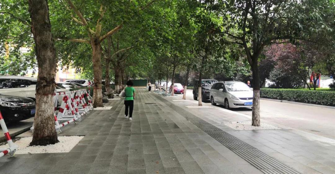 聊城东昌路人行道提升改造工程最新进展