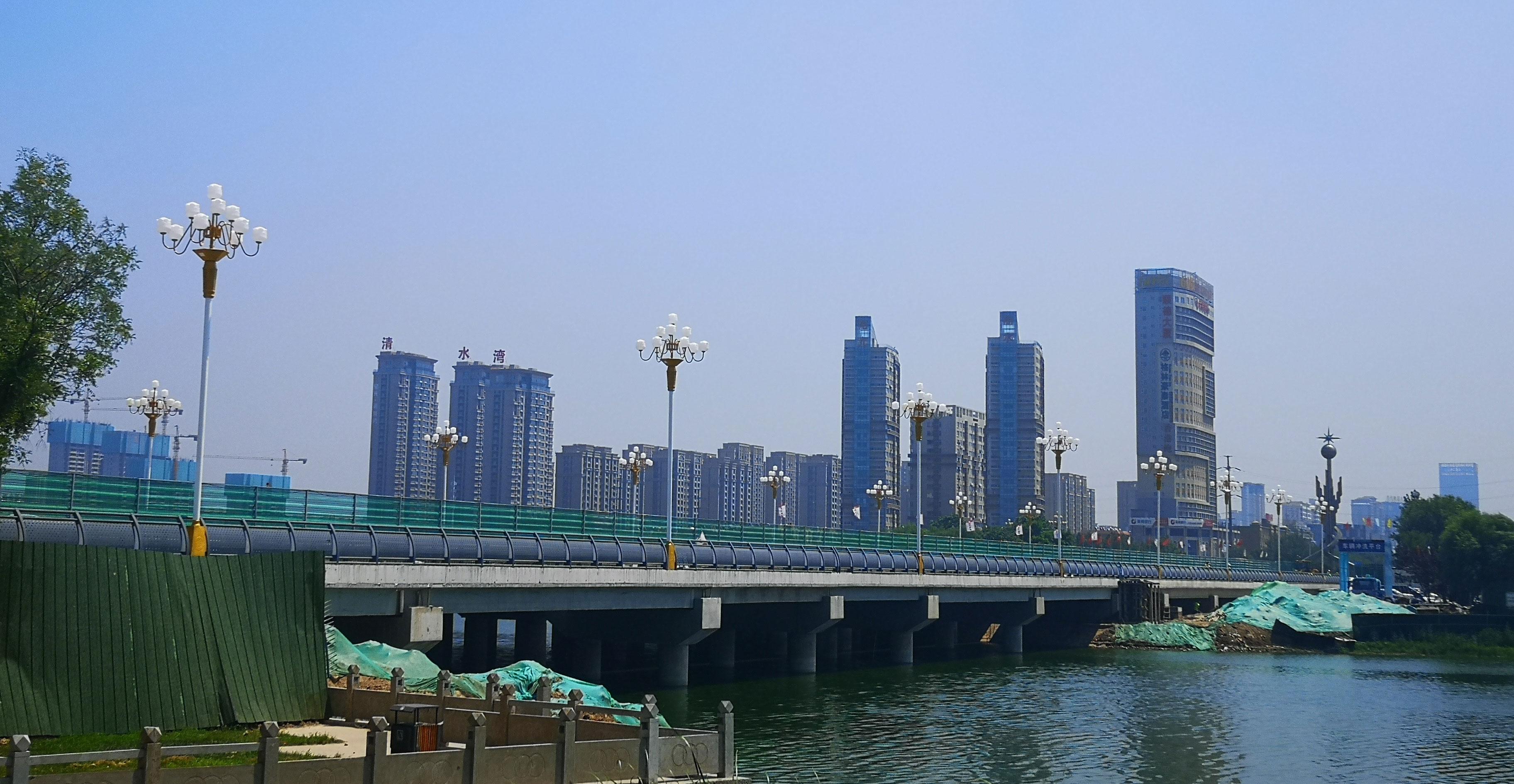 聊城:17座计划建设桥梁已开工8座