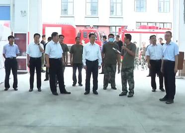 惠新安到峡山、临朐、青州、寿光等地检查防汛工作