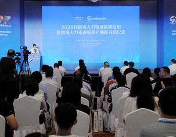 2020环渤海人力资源高峰论坛举办 渤海人力资源服务产业园同日开园