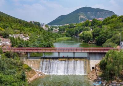 镜相济南丨水坝上架飞虹 凭栏赏飞瀑