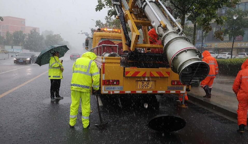 强降雨来袭!临沂加大道路巡查,及时处置道路积水点