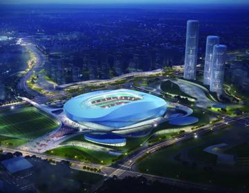 设计领先亮点颇多 青岛亚洲杯专业足球场可媲美英超