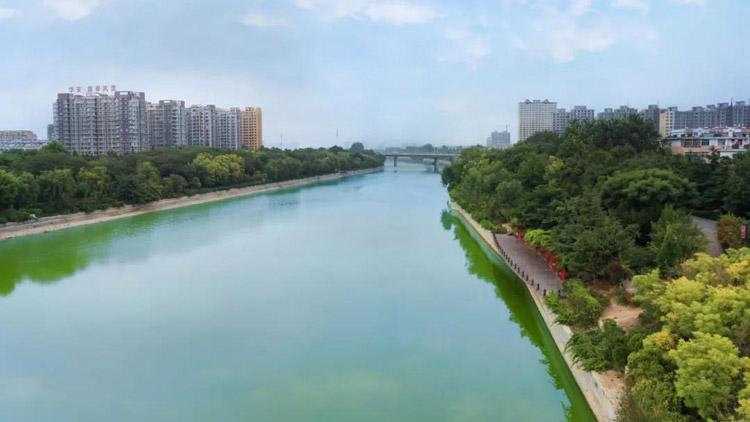 潍坊白浪河绿道开始改造提升 将形成鲜明亮丽的绿道标识