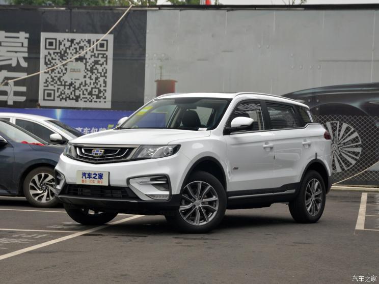 售9.98万起 吉利博越新车型正式上市