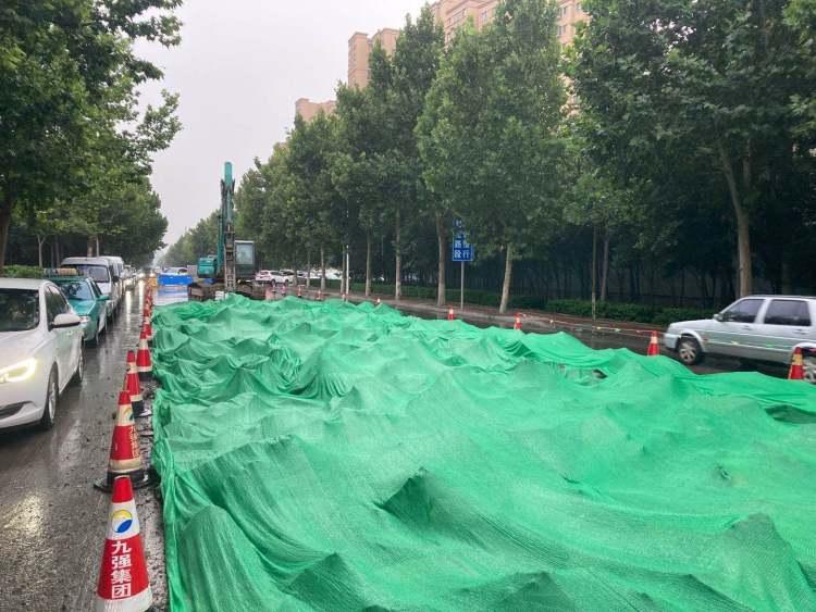 淄博高新区裕民路改造提升预计10月完成建设任务