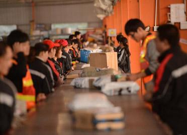 上半年潍坊全市快递业务量累计完成15342.71万件