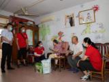 福彩志愿服务队开展进社区服务活动