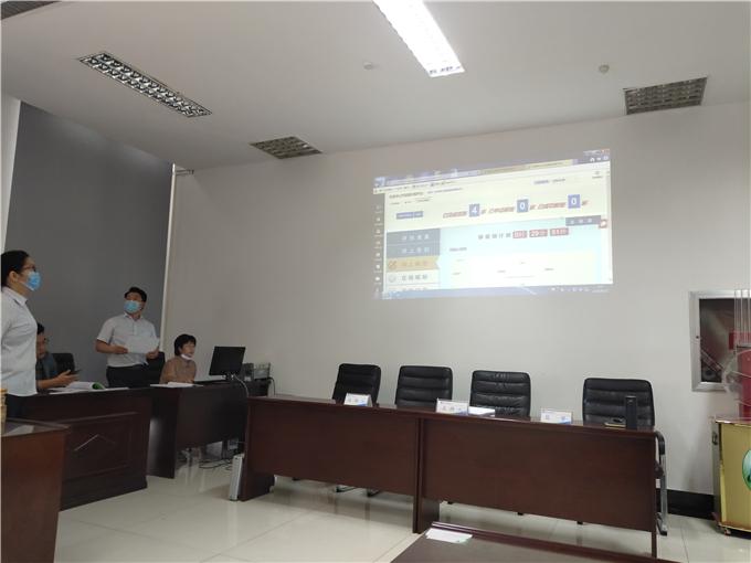 东营港经济开发区首个全流程电子化招投标建设工程项目顺利开标