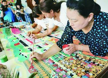 潍坊青州:一张画一亩田,农忙种地农闲挣钱