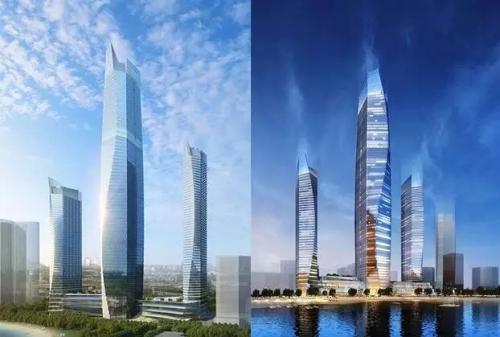 揭开青岛第一高楼面纱!齐鲁网全球同步首发《海天》