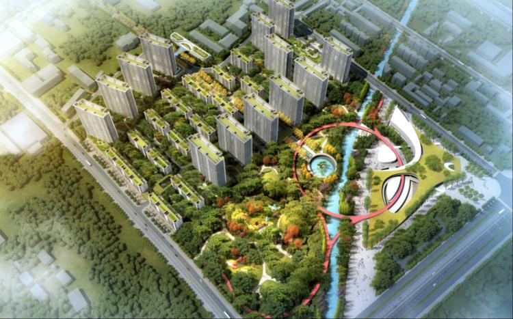 淄博高新区文体中心项目开工建设