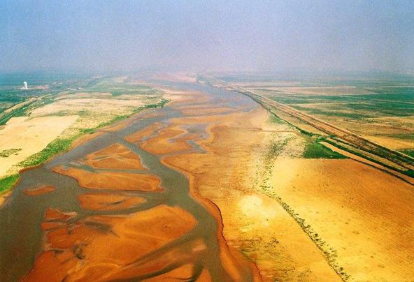 东营境内的黄河|流路改道、修建大型工程 黄河河口这样治理