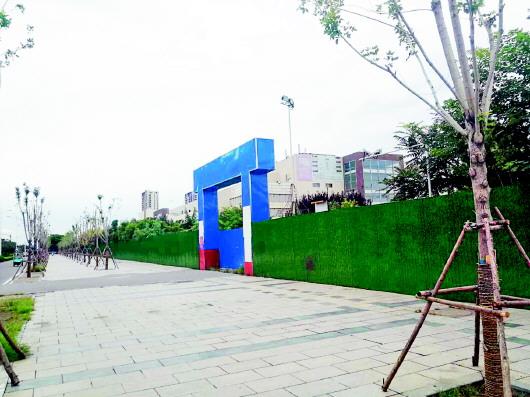 原永旺淄博购物中心再迎新商家 荣盛广场筹备人员已入驻预计年底开业