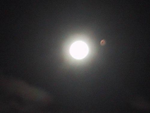 """9月公众可赏""""火星伴月""""等精彩天象"""