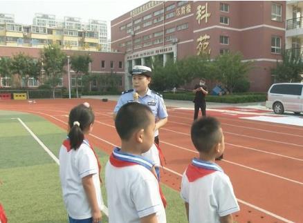 48秒丨体验活动齐上阵!济宁交警为学生们上好交通安全第一课
