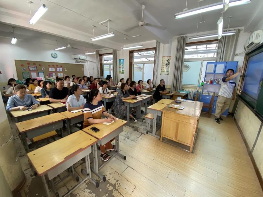 济南市无影山小学开展信息化培训活动