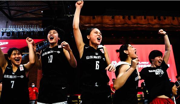 临沂一中女篮获中国高中篮球联赛总决赛季军!