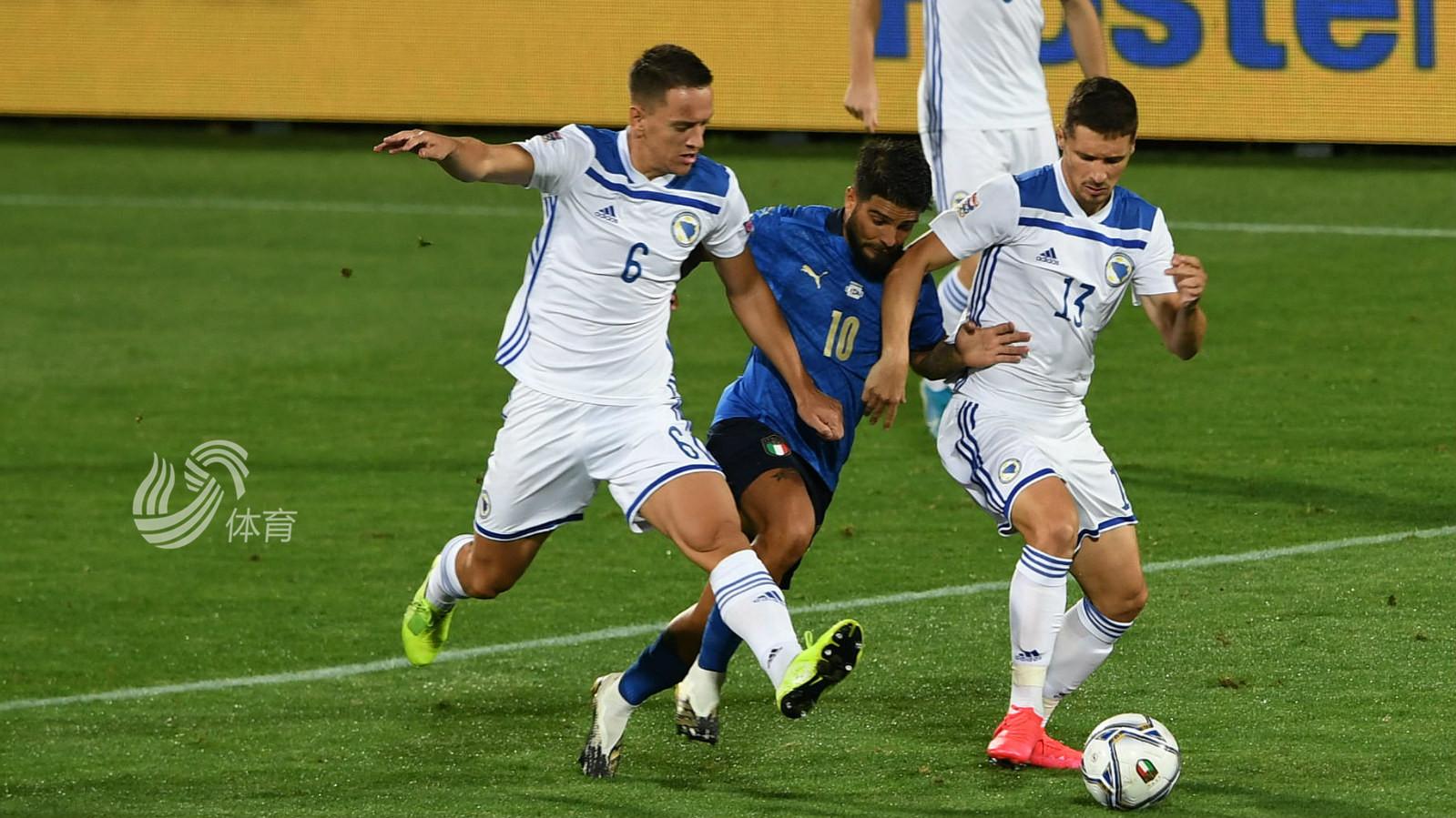 欧国联:意大利1-1波黑 11连胜被终止