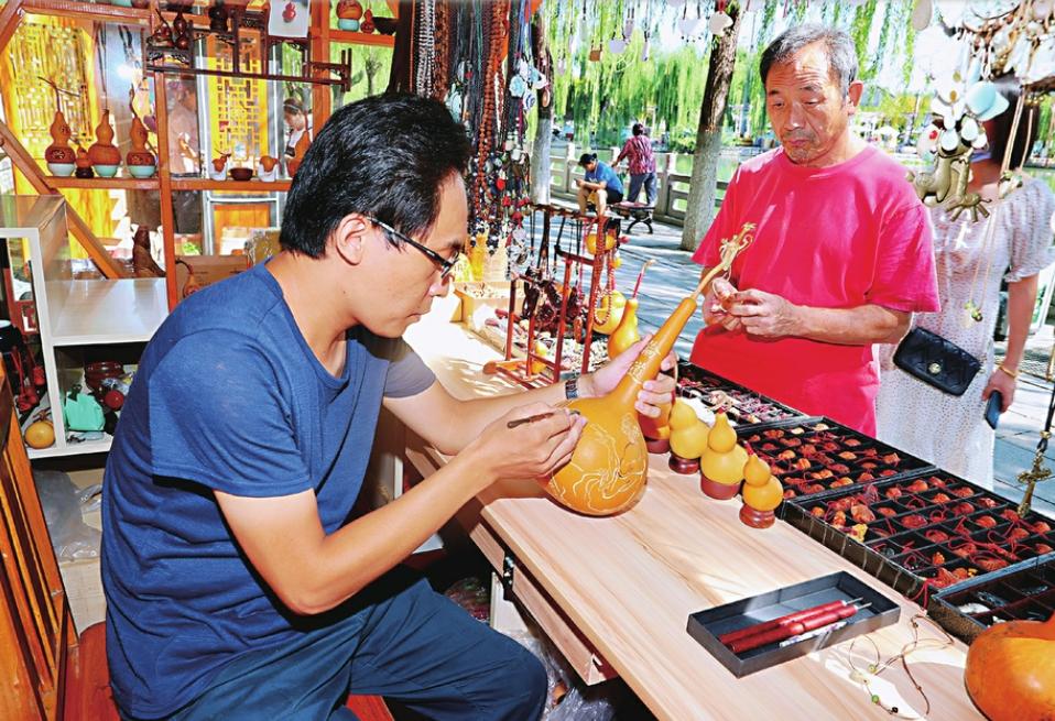 济南曲水亭民俗街,让传统手艺被看见、被带走—— 老街新愿
