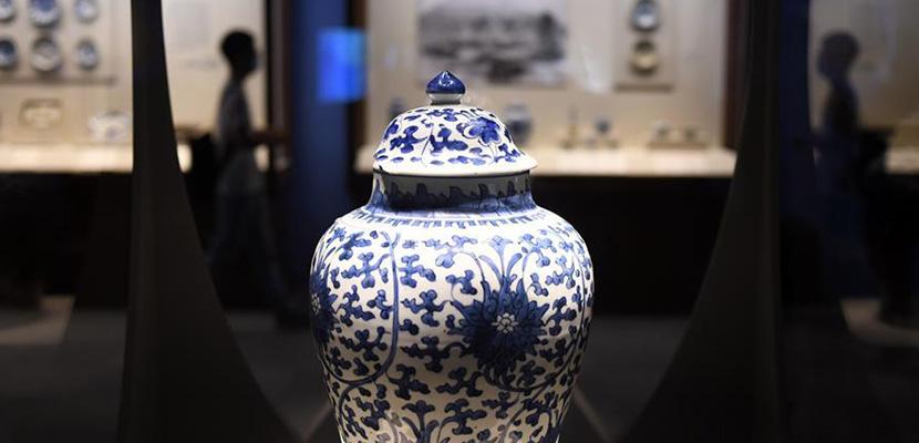 """""""浮槎万里——中国古代陶瓷海上贸易展""""在国博开幕"""