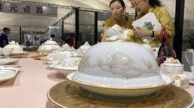 60余家外埠国内知名陶瓷亮相外埠展区 给淄博市民带来艺术盛宴