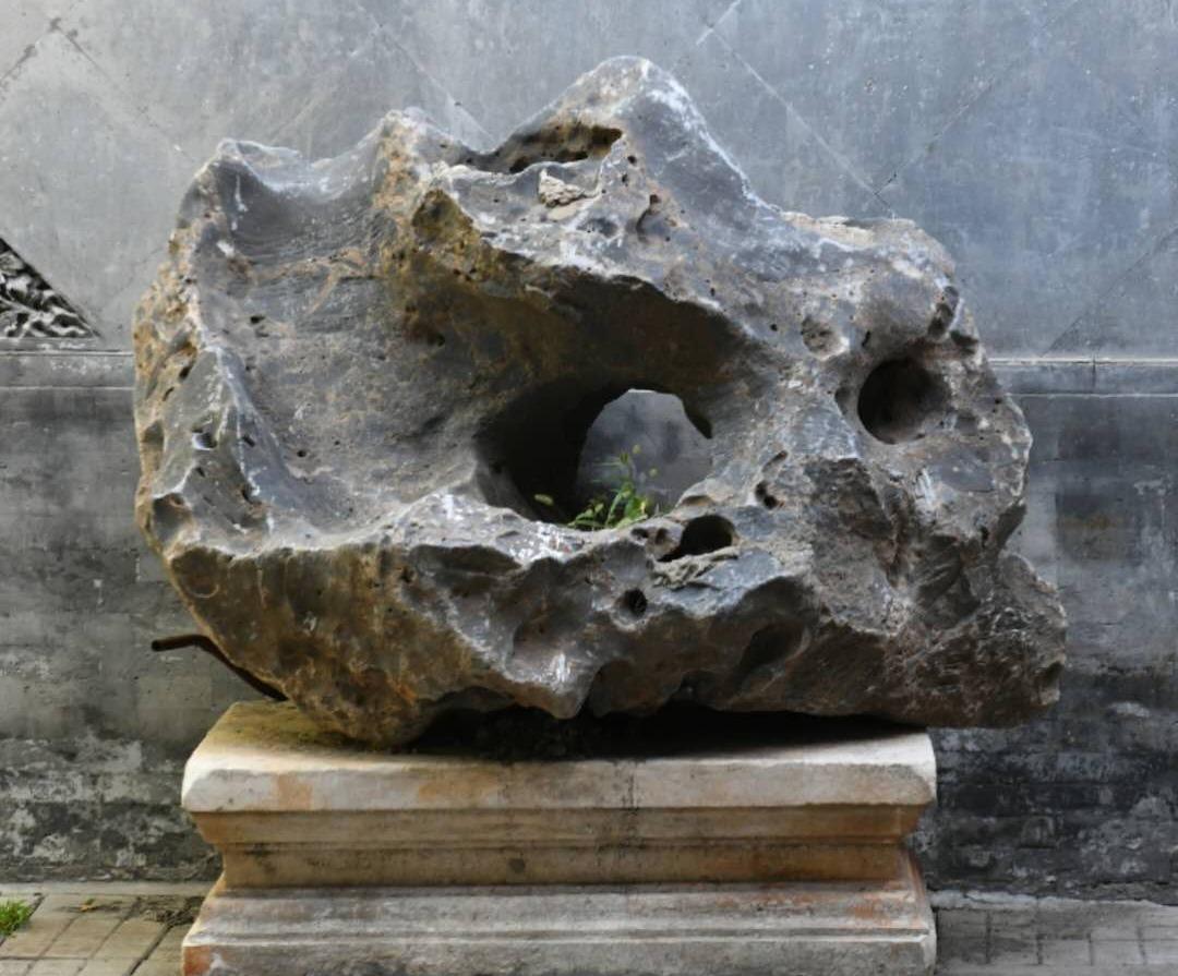 圆明园狮子林流散文物回归 为乾隆御题太湖石