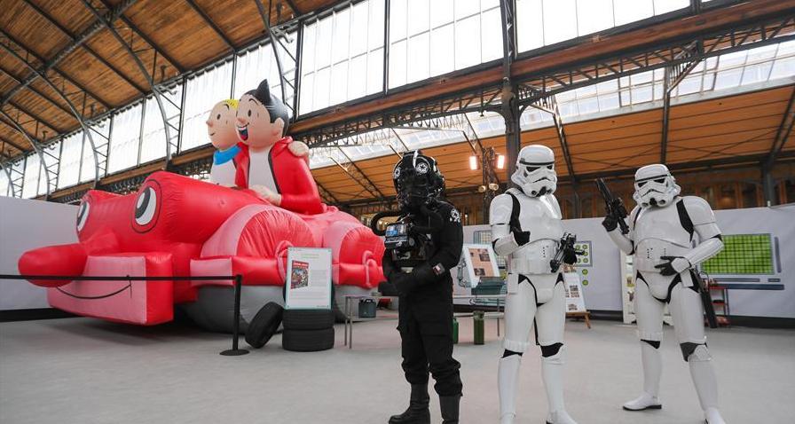 布鲁塞尔漫画节在疫情下开幕 参展漫画商和访客数量大幅下降