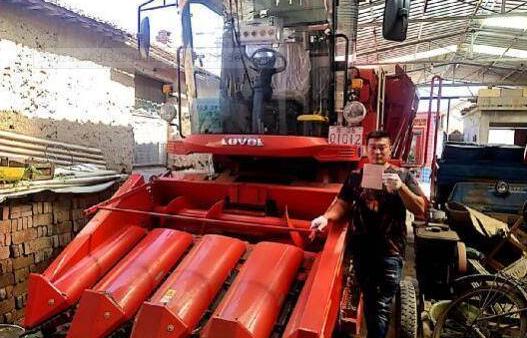 东营区159户农民领到农机购置补贴
