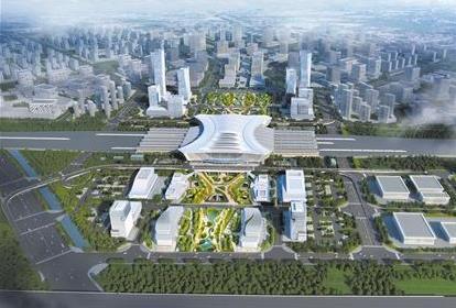 菏泽东站广场综合体规划出炉