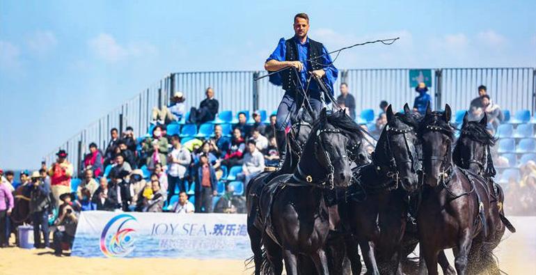 潍坊滨海文化体育旅游系列节会赛事精彩上演