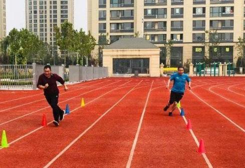 东营市第十届全民健身运动会达标测验赛开赛