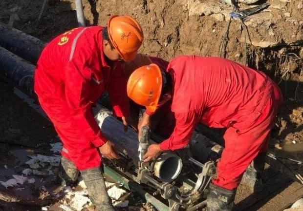 东营老旧供热管网改造 用上开发区企业新型管材