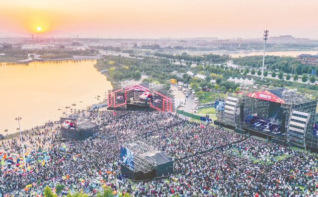 2020淄博麦田音乐节开幕