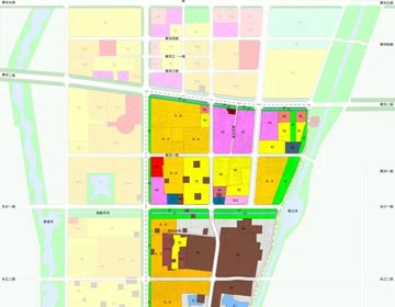 一带三轴三片区 滨州最新规划
