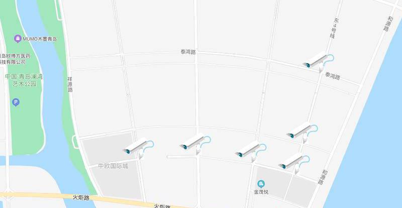 出行注意!青岛高新区新增8处电子警察 25日起启用