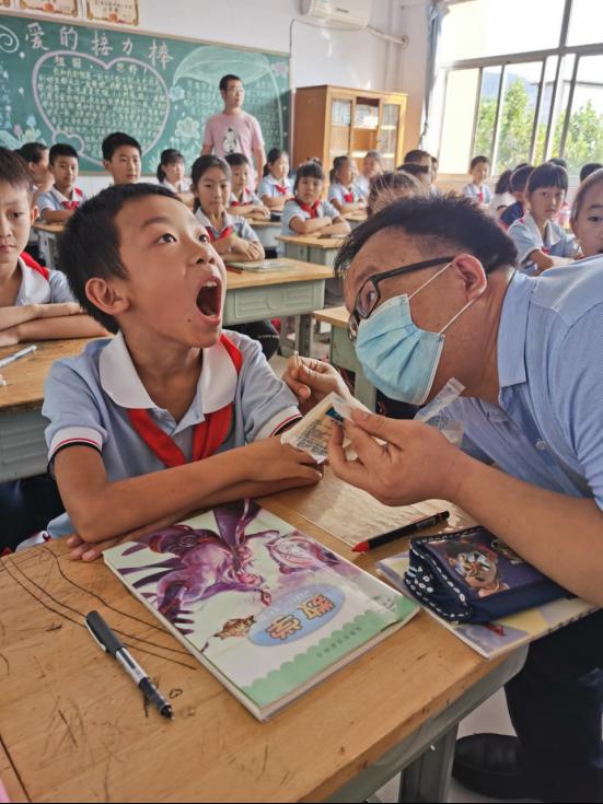 潍坊护理职业学院开展志愿服务活动助力脱贫攻坚529