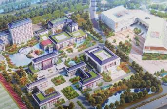 """聊城""""一校三馆""""建设蹄疾步稳 预计2022年7月交付使用"""