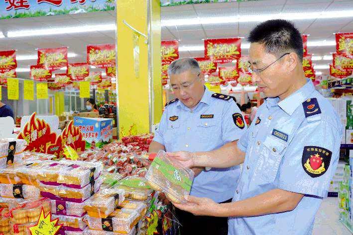 日照:护航节日食品安全