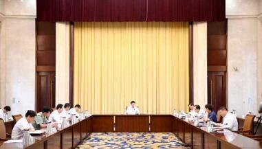 淄博市委理论学习中心组开展集体学习研讨
