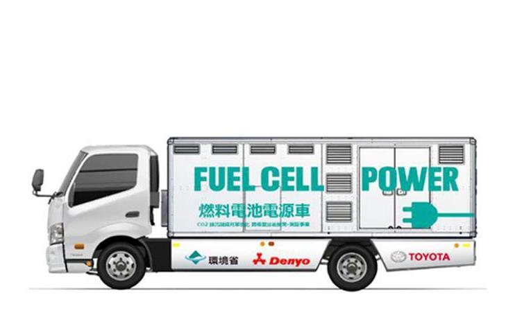 持续供电72小时 丰田研发氢气发电新车
